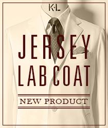 JERSEY LAB COAT