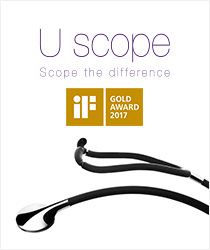 iF GOLD AWARD 2017 Uscope Scope the difference