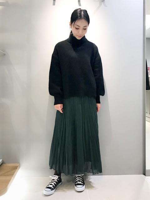ロング・マキシ丈スカートを使ったレディースコーデ   Rouge vif la cle