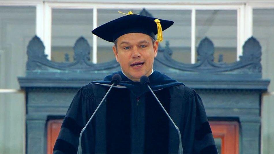 マサチューセッツ工科大学の卒業式のスピーチでマッド・デイモンが残した素晴らしい言葉とは