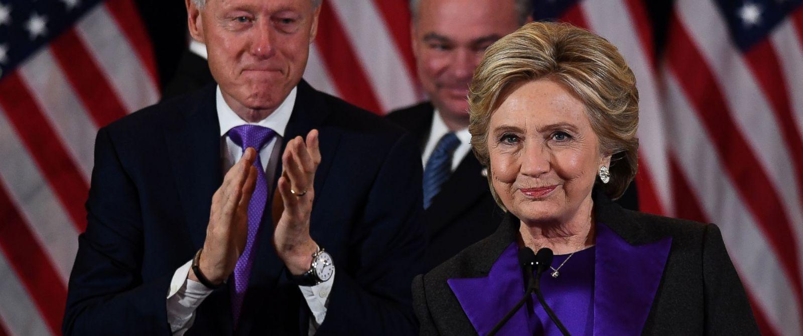 「トランプ氏が私達の大統領になる」敗北宣言に滲むクリントン氏の潔い強さ