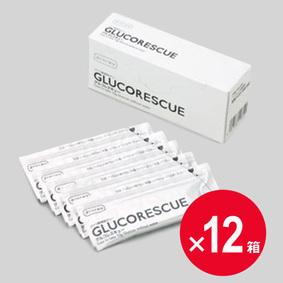 [ネット限定] グルコレスキュー (ブドウ糖補給ゼリー) 25g×5包×12個セット