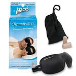 [ネット限定]Macks Dream 立体型アイマスク+防音ソフト耳せんセット ブラック