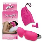 [ネット限定] Macks Dream 立体型アイマスク+防音ソフト耳せんセット ピンク