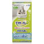 デオトイレ ふんわり香る消臭・抗菌シート ナチュラルガーデンの香り 10枚