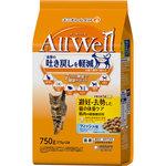 AllWell 避妊・去勢した猫の体重ケア 筋肉の健康維持用フィッシュ味挽き小魚とささみフリーズドライパウダー入り 750g