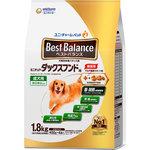 ベストバランス カリカリ仕立て ミニチュア・ダックスフンド用 成犬用 1.8kg