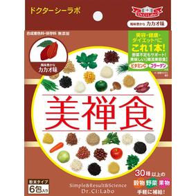 ※美禅食 カカオ味 93g(15.5g×6包)