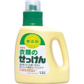 無添加 お肌のための洗濯用液体せっけん 1200mL