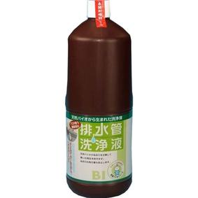 プロが使う業務用 排水管洗浄液 【天然バイオから生まれた洗浄液】 1.8L