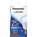 LED電球 E17口金(小形電球下方向タイプ) LDA3DHE17EW 昼光色相当 1個