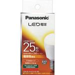 LED電球 E17口金(小形電球下方向タイプ) LDA3LHE17EW 電球色相当 1個