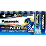 乾電池エボルタNEO単4形 LR03NJ 8本