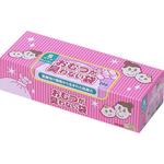 おむつが臭わない袋BOSベビー用箱型 Sサイズ ピンク色 200枚