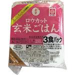 金芽ロウカット玄米ごはん 150g×3食