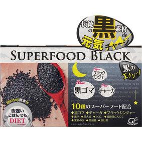 新谷酵素 夜遅いごはんでも スーパーフードブラック 45g(250mg×6粒)×30包