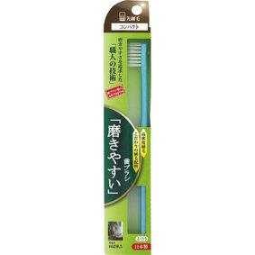 「磨きやすい」歯ブラシコンパクト(先細毛) ふつう ピンク/ブルー/ホワイト/パープル 1本