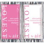 LOVEST by air サロンクオリティーヘアケア トライアルパック フェアリーピンク 1セット