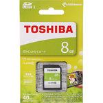 SDHC UHS−Iカード8GB CLASS10 1枚