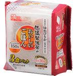 低温製法米のおいしいごはん ゆめぴりか 角型 150g×3食