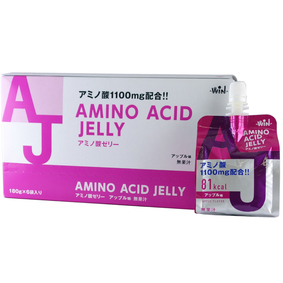 ※アミノ酸ゼリー アップル味 180g×6個セット