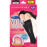 YUBIひらーく Mサイズ ブラック 1足組