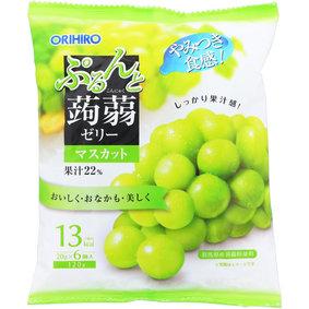 ※ぷるんと蒟蒻ゼリーパウチ マスカット 20g×6個