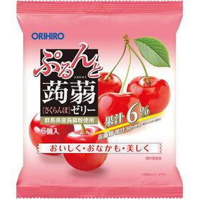 ※ぷるんと蒟蒻ゼリーパウチ さくらんぼ 120g(20g×6個)