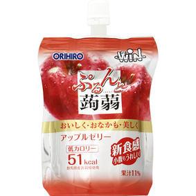 ※WIN ぷるんと蒟蒻スタンディング アップル 130g