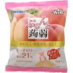 ぷるんと蒟蒻ゼリーパウチ ピーチ(WIN) 120g(20g×6個)
