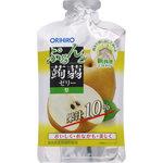 ぷるんと蒟蒻ゼリーパウチショット 梨 100g