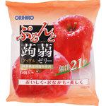 ぷるんと蒟蒻ゼリーパウチ アップル 120g(20g×6個)