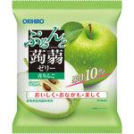 ぷるんと蒟蒻ゼリーパウチ 青りんご 120g(20g×6個)