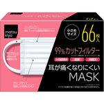 matsukiyo 耳が痛くなりにくいマスク 小さめサイズ 66枚(33枚×2パック)