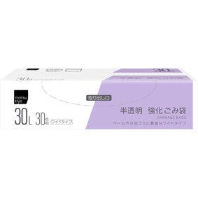 matsukiyo 強化ごみ袋 30L 半透明 30枚