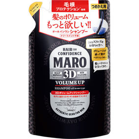 MARO 3DボリュームアップシャンプーEX つめかえ用 380mL