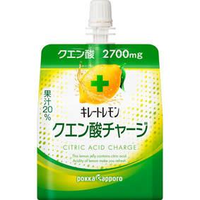 ※キレートレモンクエン酸チャージゼリー パウチ 180g