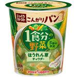 じっくりコトコトこんがりパン 1食分の野菜ほうれん草チャウダー カップ 33.0g