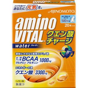 アミノバイタル クエン酸チャージウォーター 箱 200g(10g×20本)