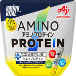 ※アミノバイタル アミノプロテイン レモン味 パウチ 129g(4.3g×30本)