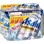 アサヒスーパードライ 瞬冷辛口 350mL×6缶
