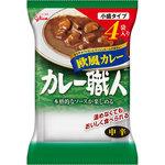 カレー職人小盛サイズ 欧風カレー中辛 600g(150g×4袋)