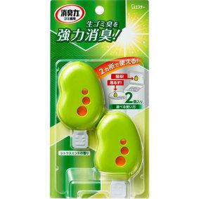 ゴミ箱の消臭力 シトラスミントの香り 3.2mL×2個