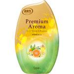 玄関・リビング用 消臭力 Premium Aroma スイートオレンジ&ベルガモット 400mL