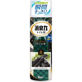 消臭力 トイレ用スプレー 炭と白檀の香り 330mL