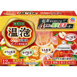 温泡 ONPO とろり炭酸湯 ぜいたく果実紅茶 45g×12錠