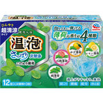 温泡 ONPO さっぱり炭酸湯 こだわり薄荷 12錠(4種類×3錠)