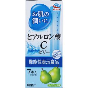 お肌の潤いにヒアルロン酸Cゼリー 70g(10g×7本)