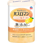 バスロマン 無添加タイプ ふんわり柚子の香り 600g