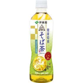 伝承の健康茶 そば茶 500mL